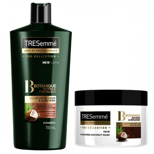 Tresemme Botanique Nourish and Replenish with coconut Pack