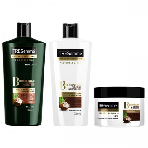 Max Pack Tresemme Botanique Nourish and Replenish with coconut