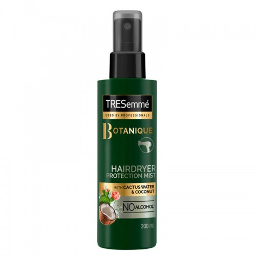 Tresemme Botanique Hairdryer protection mist with cactus water and coconut 200 ml