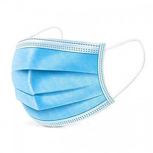 Masca de protectie de unica folosinta, 3 straturi, 3 pliuri