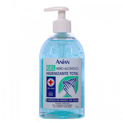 Anian Hand Sanitizing Gel Hydroalcoholic with Aloe Vera 500 ml