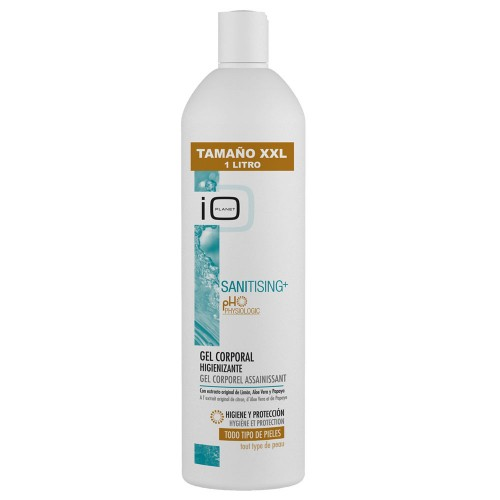 IO Planet Sanitising+ Sanitising Body Gel with original Lemon extract, Aloe Vera and Papaya 700 ml