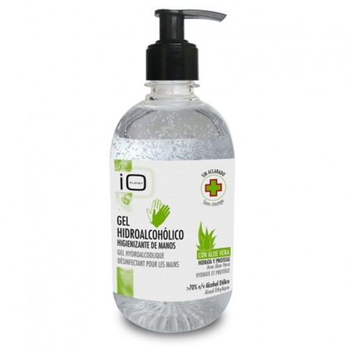 IO Planet Gel Hidroalcoolic Igienizant cu Aloe Vera 500 ml