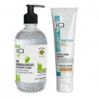 IO Planet Hydro-alcoholic hand sanitising gel and Moisturising Hand Cream