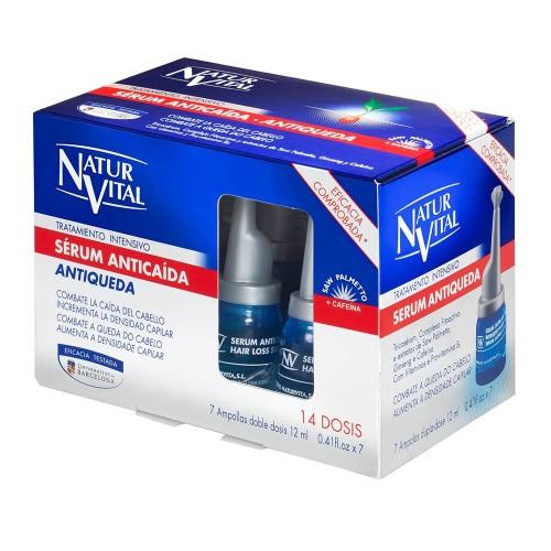 Natur Vital Intensive Hair Loss Serum Treatment 7x12ml
